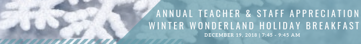 Sign up to volunteer for the winter wonderland breakfast